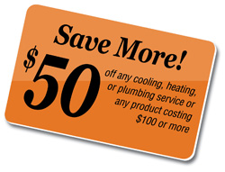 Dallas Plumbing Company Air Conditioning and Heating Division - Special Promotion