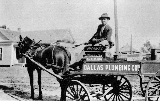 Fred Downs, first generation Dallas Plumbing Company 1913