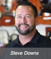 Steve Downs, Commercial plumbing manager