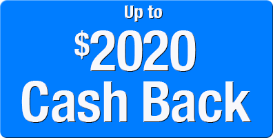 Up to 2020 Dollars Cash Back