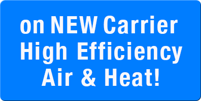 on New Carrier AC and Heat